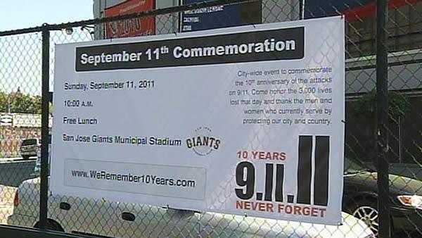 Bay Area to honor Sept. 11 through ceremonies