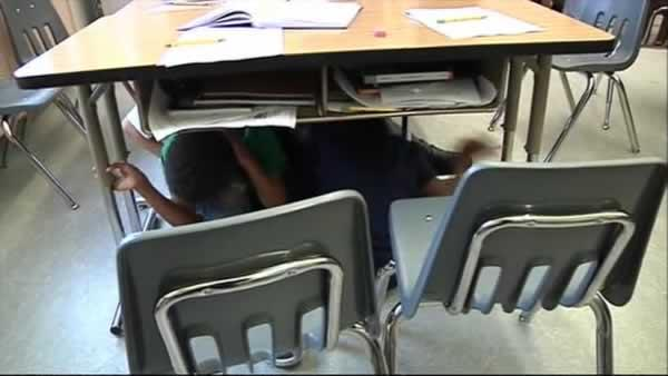 Cupertino school holds quake drill following tremors
