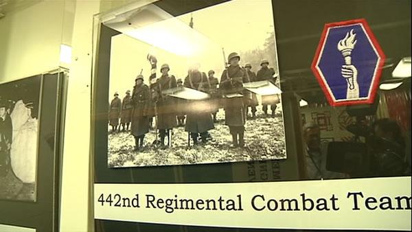 Local members of Japanese-American Army unit honored