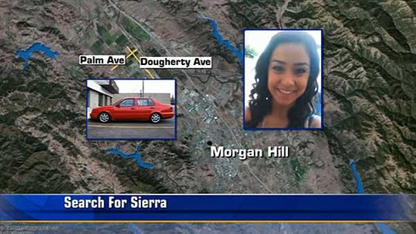 Police searching for Sierra focus on red Jetta