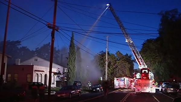 Home near SJSU damaged in fire