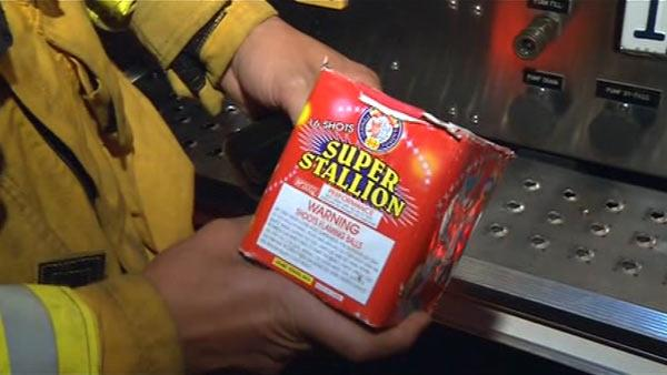 San Jose warns residents about illegal fireworks