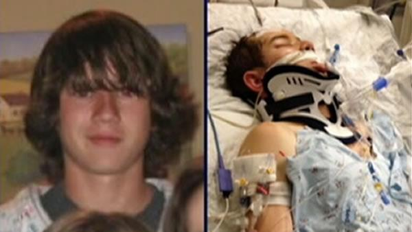 Teen hospitalized after confrontation with police