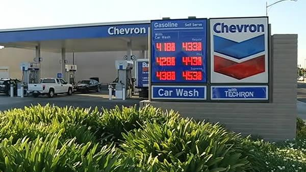 Gas price increase seems California specific