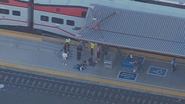 Suspect shot by Caltrain officer Downtown San Jose