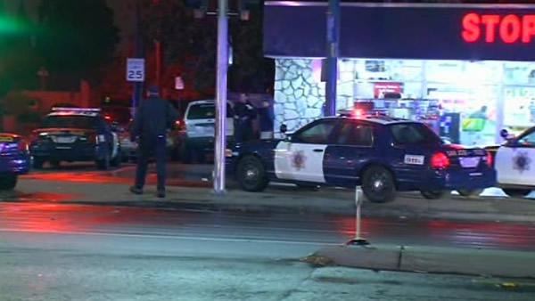 San Jose police officer injured in gunfight
