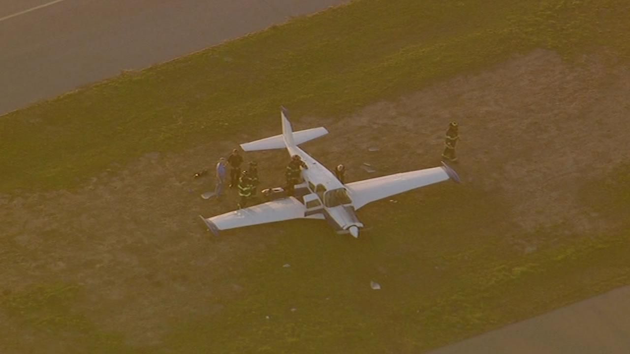Two planes on a runway at San Joses Reid-Hillview Airport  collided Friday afternoon.