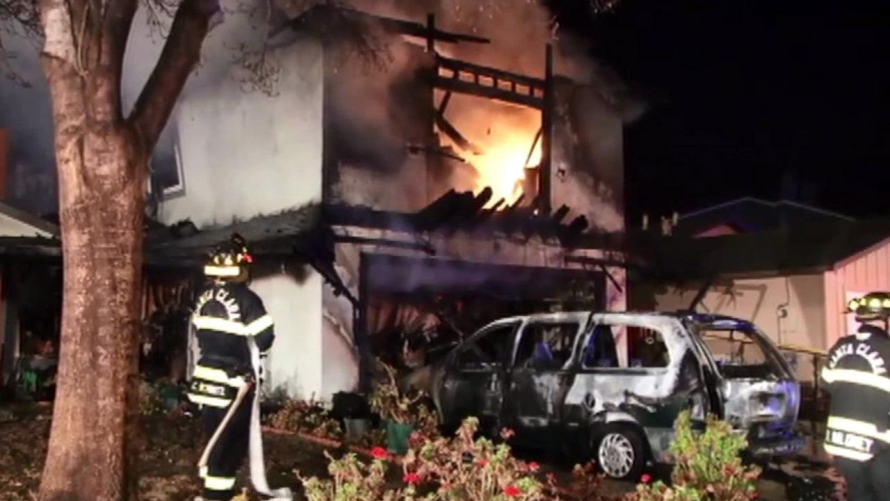 Santa Clara fire