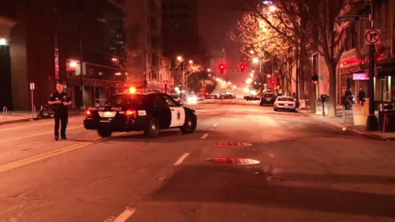 San Jose fatal stabbing scene.