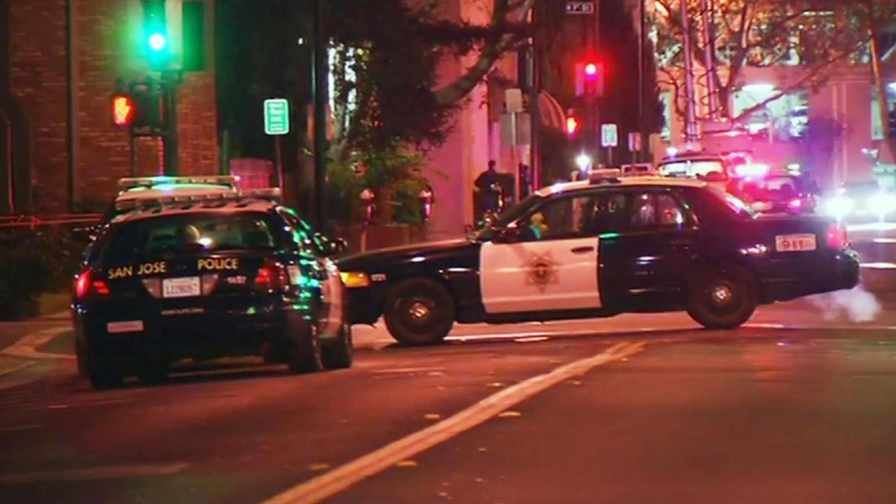 San Jose police scene