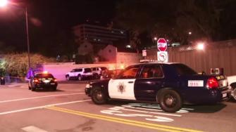 Police are searching for a suspect accused of stabbing four people at a bar and restaurant in San Jose early Sunday morning.
