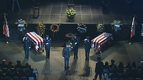 Memorial for two fallen Santa Cruz police officers