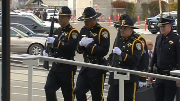 Officers honor fallen Santa Cruz police officers