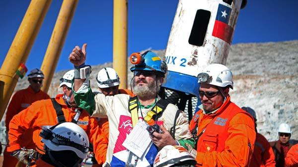 Chile joyous at clockwork-like miner rescue