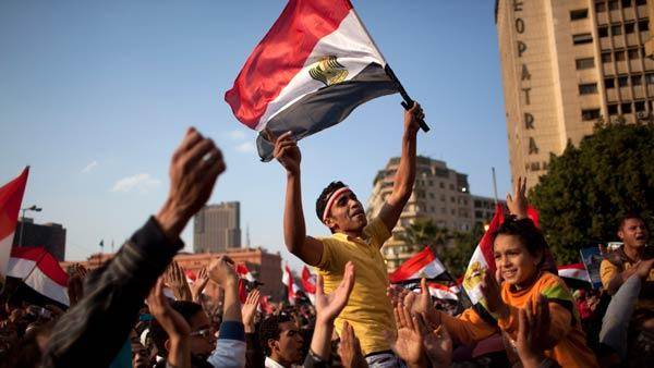 Protesters press for voice in Egyptian democracy
