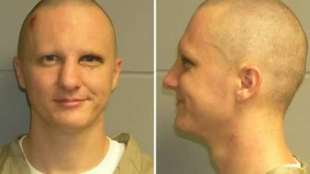 This is a combo of photos of Jared Loughner released Tuesday, Feb. 22, 2011, by the U.S. Marshals Service. The photo was taken in Phoenix while Loughner was in the agencys custody.