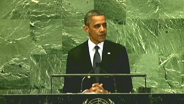 Obama tells UN he wants to resolve Iran dispute