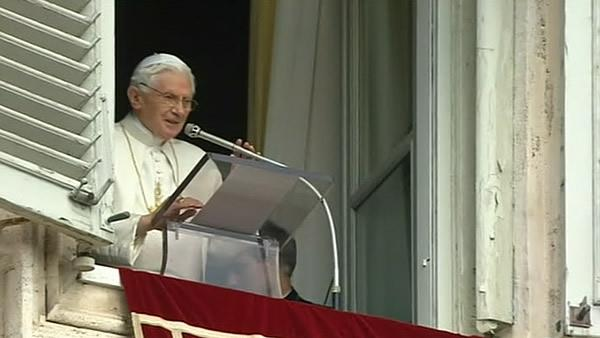 The Farewell to Pope Benedict XVI