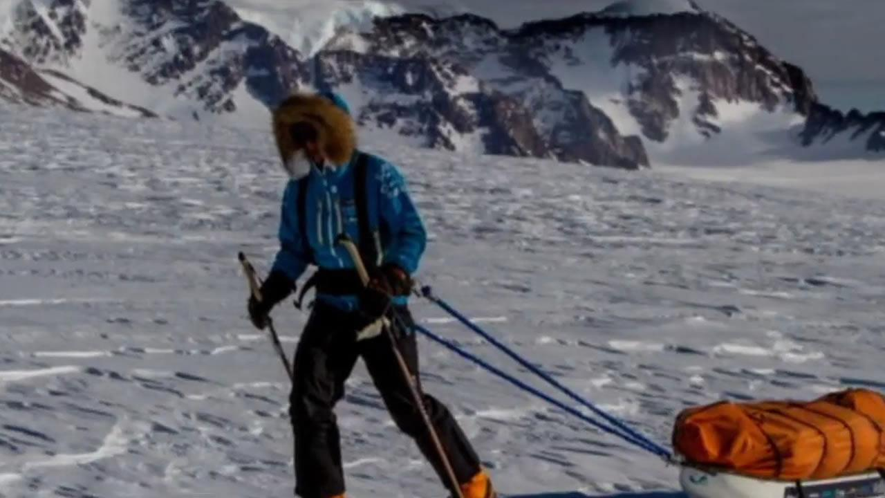 A Yale student named Parker Liautaud is expected to set a world record by making a 397-mile trek across Antarctica  on Christmas Eve