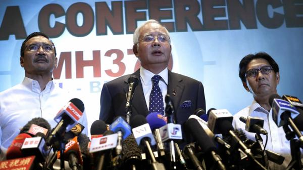 Malaysia says jet's disappearance was deliberate