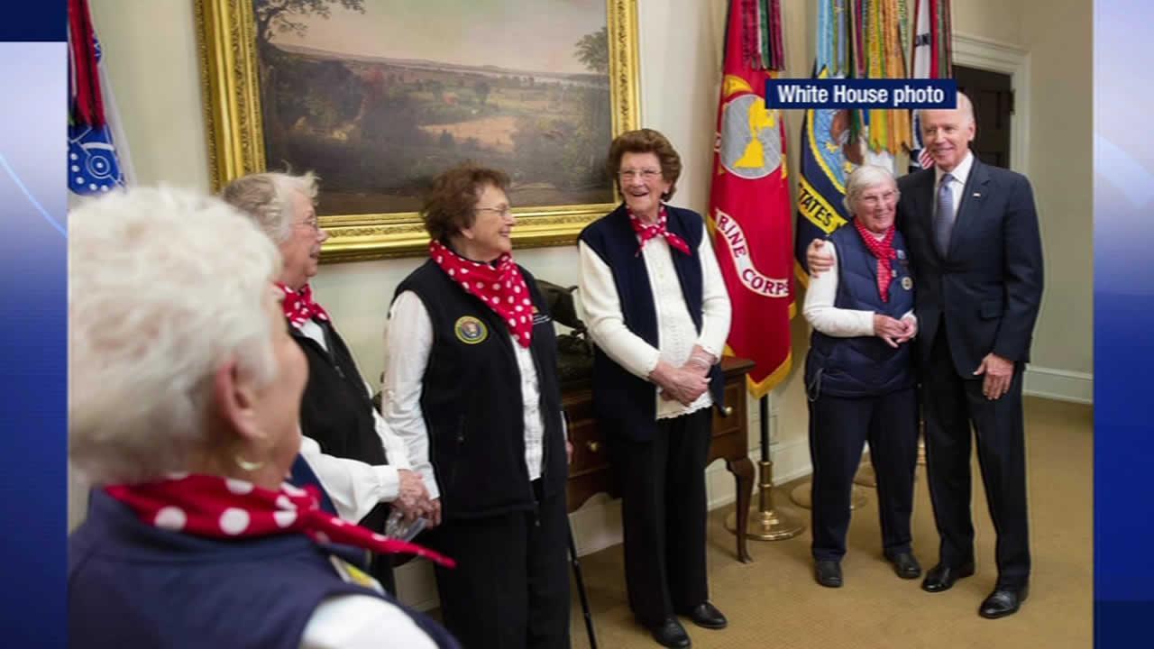 original six Rosie the Riveters in Washington