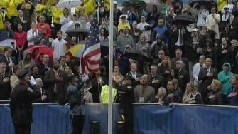 Tributes held on anniversary of the Boston Marathon bombings.