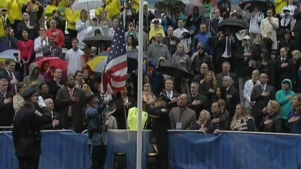 Moment of silence marks Boston Marathon bombings