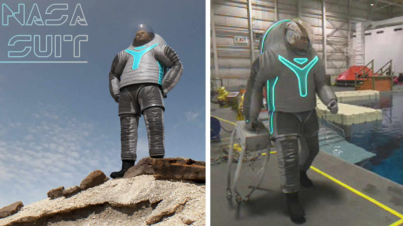 new NASA spacesuit