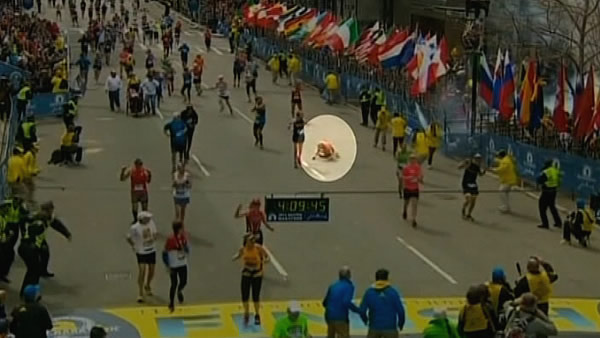 78-year-old runner injured at Boston Marathon