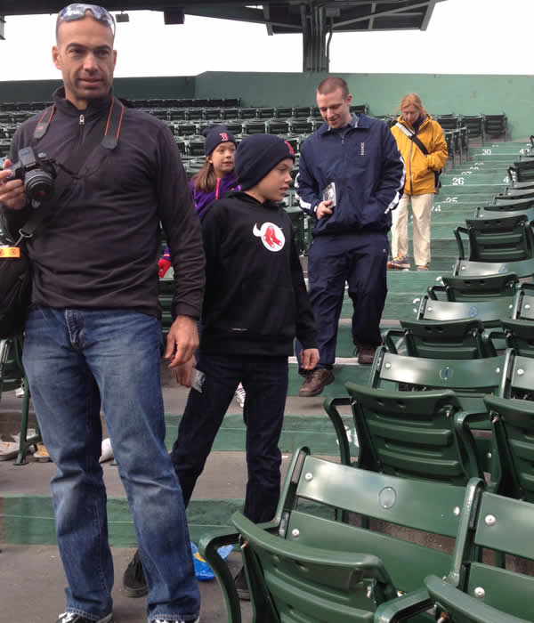 "<div class=""meta ""><span class=""caption-text "">11-year-old Aaron Hern from Martinez was one of the youngest victims in the Boston Marathon bombings. Hern stands behind his dad at a stadium. (KGO)</span></div>"
