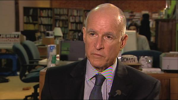 ABC7 interview with Jerry Brown