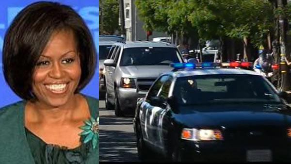 Michelle Obama in the Bay Area for two fundraisers