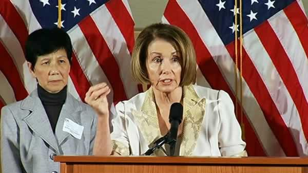 Pelosi blasts Republicans over budget cuts