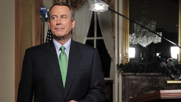 Rep. John Boehner responds to Obama address