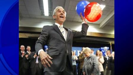 file photo of Rep. Ron Paul, R-Texas, in Maine
