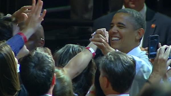 Obama has successful campaign stop in Oakland