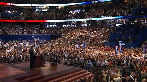Mitt Romney accepts nomination