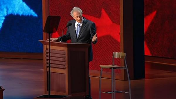 Clint Eastwood empty chair speech goes viral