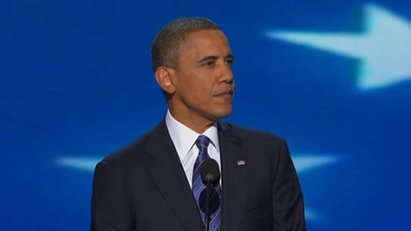President Barack Obama's DNC speech