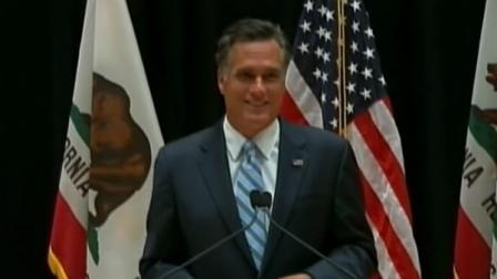 Mitt Romneys presidential campaign is once again side tracked by off the cuff comments from the candidate.
