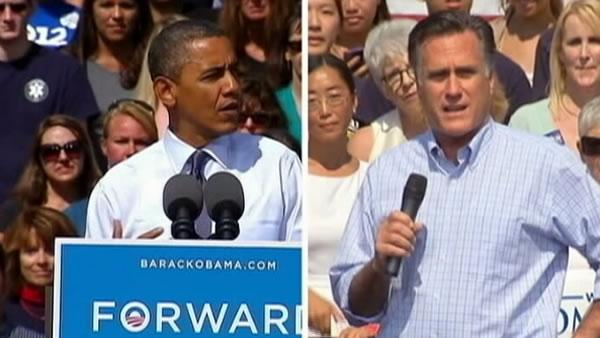 Obama argues against Romney's