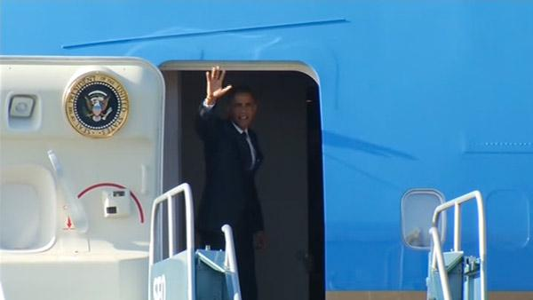 Obama leaves Bay Area after fundraising trip