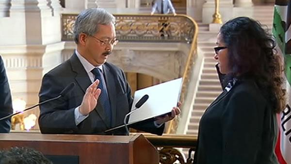 Christina Olague gets attention after Mirkarimi case