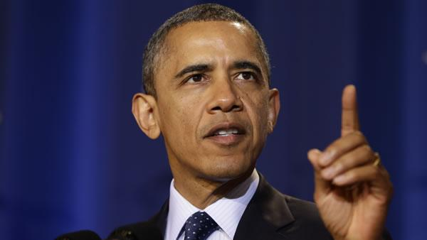 Obama: No fiscal cliff deal without higher rates