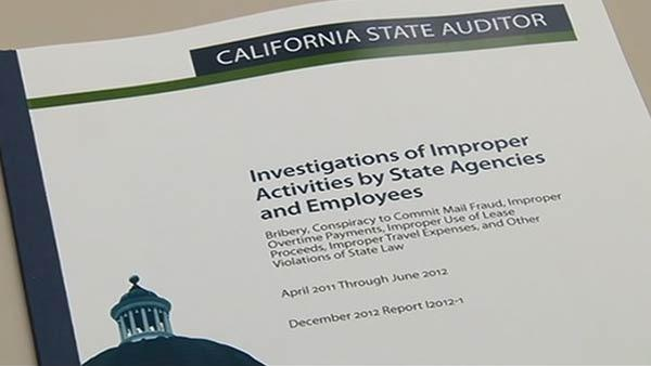 Auditor's report finds state workers misbehaving
