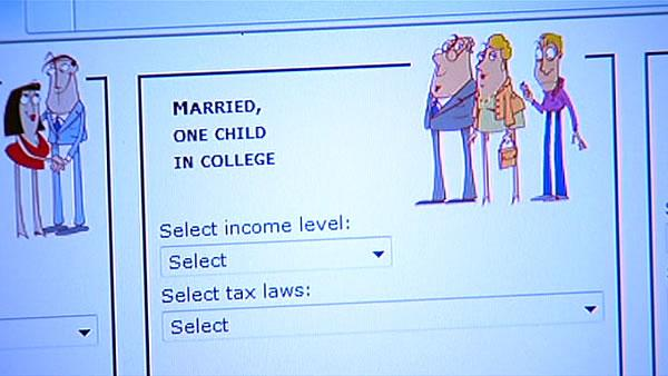 Calculator shows impact of fiscal cliff on individuals