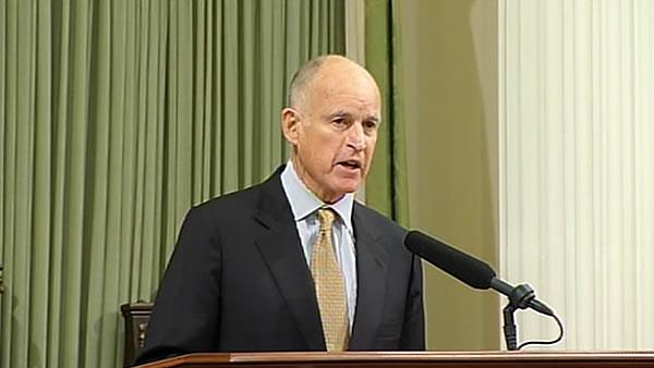 Gov. Brown promotes optimistic vision of California