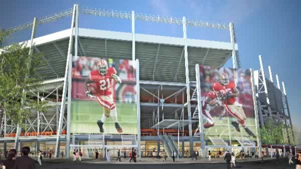 Possible 49ers stadium