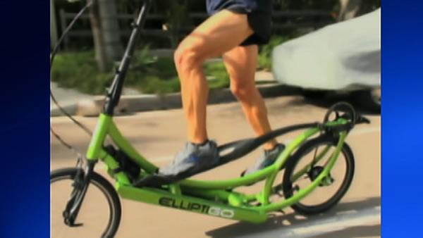 Man rides ElliptiGO from SF to L.A.