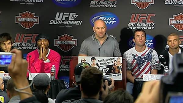 Dana White brings UFC to Bay Area